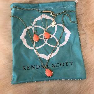 Kendra Scott Kiri Necklace & Dee Earrings